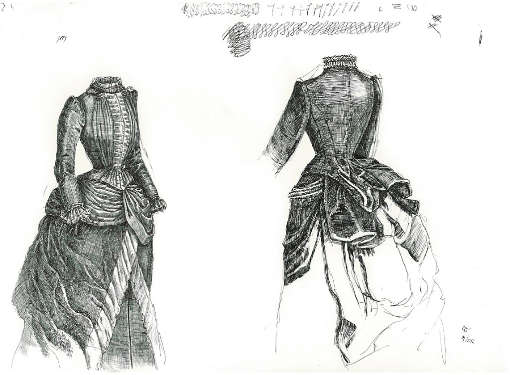 Victorian Clothing - Study1